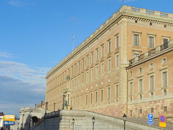 Il maestoso palazzo reale di Stoccolma