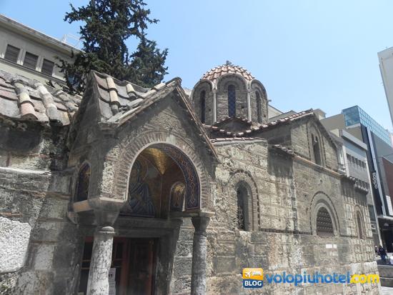 Veduta della chiesa Panagia Gorgoepìkoos