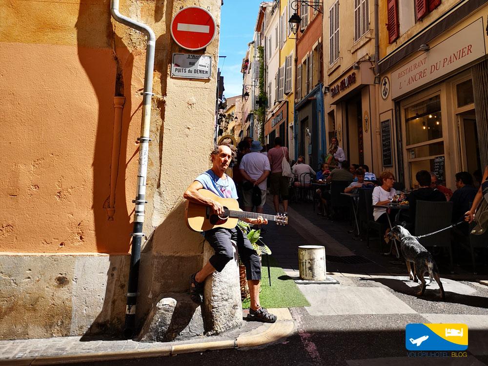 Le Panier al centro di Marsiglia