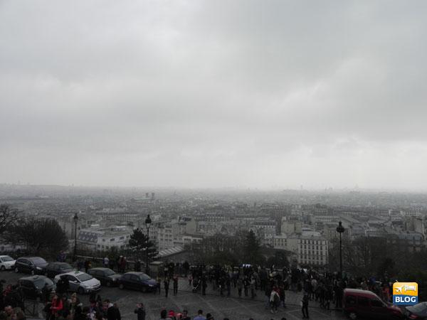 Panorama dal Sacro Cuore di Parigi