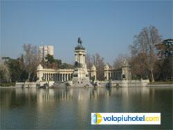 Parco del Buon Ritiro a Madrid