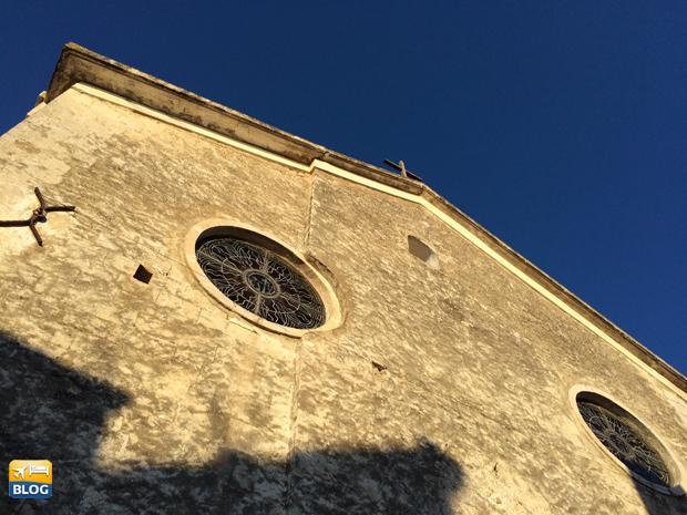 Facciata della Chiesa di Sant'Elia a Peschici
