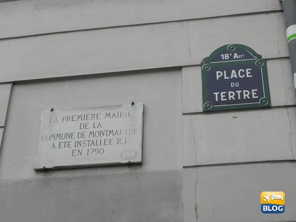 Place Du Tertre targa