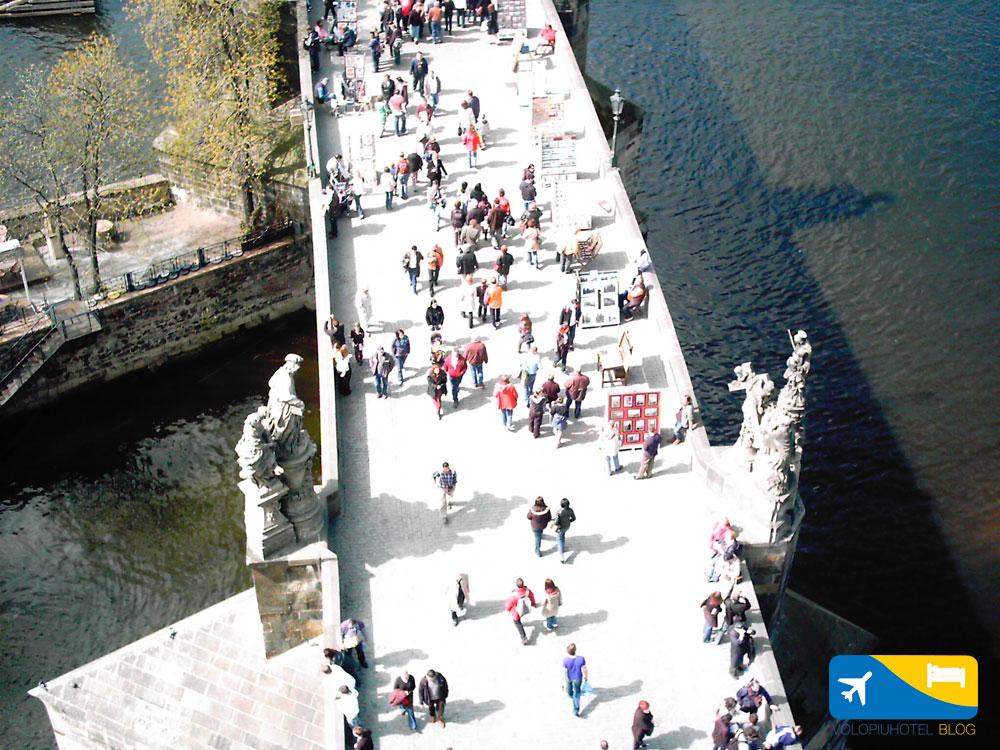 Ponte Carlo dall'alto