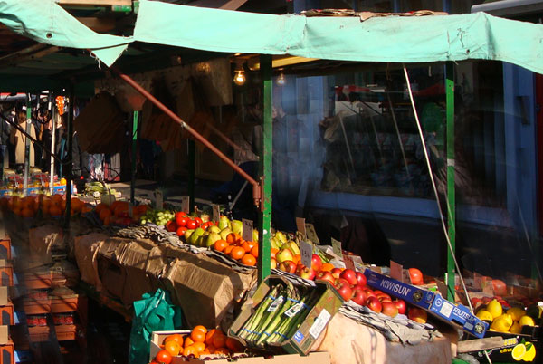 Mercato della frutta a Portobello Road