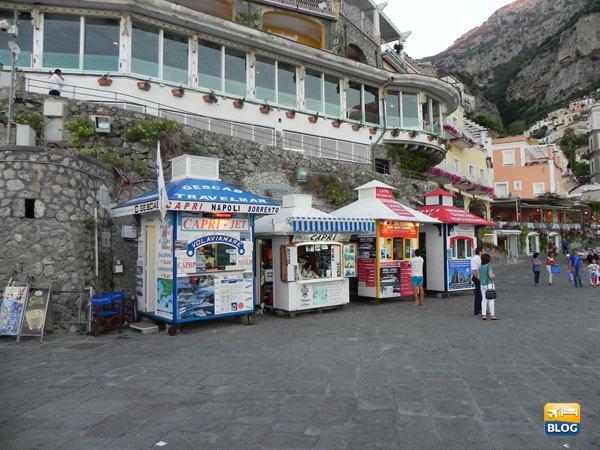 Biglietterie escursioni a Positano