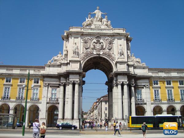 Arco de Rua Augusta a Piazza del Commercio