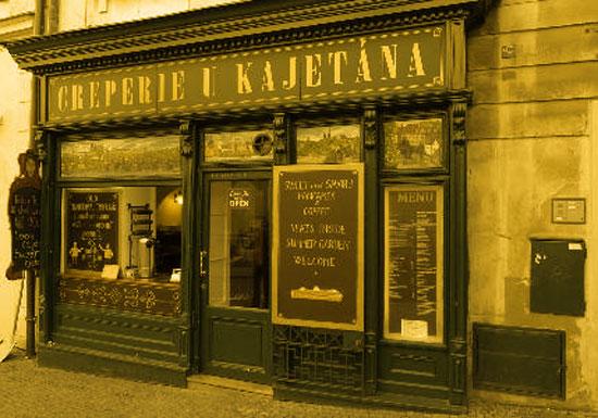 Creperie u Kajetàna a Praga