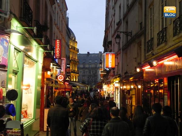 Quartiere Latino a Parigi