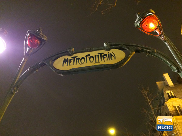 Metropolitana al quartiere Latino