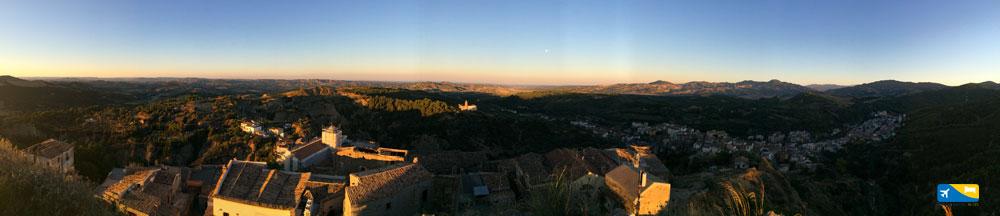 Panoramica di Tursi