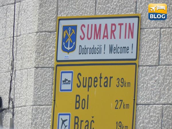 Traghetti da Makarska a Sumartin isola di Brac