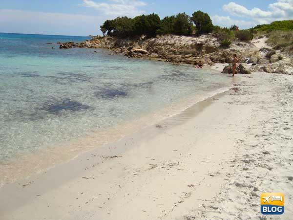 Spiaggia di Rena Bianca in Sardegna