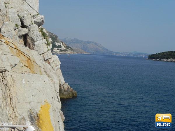 Il Buza cafè a Dubrovnik
