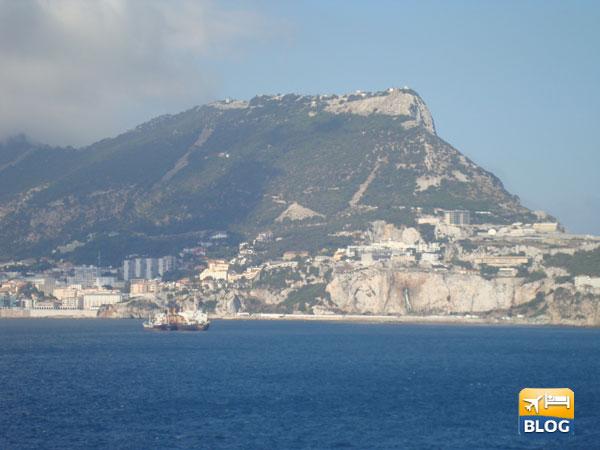 La Rocca di Gibilterra vista dal mare