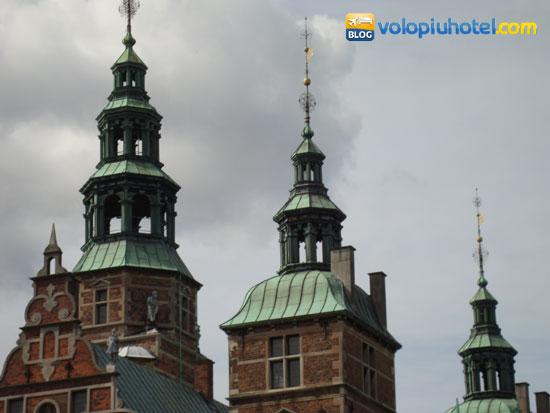 Particolare di tetti del castello rinascimentale