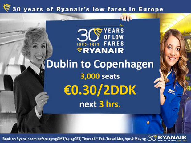 Promo Ryanair Social