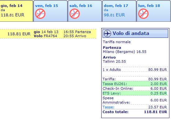 Eccovi le due nuove tasse di Ryanair
