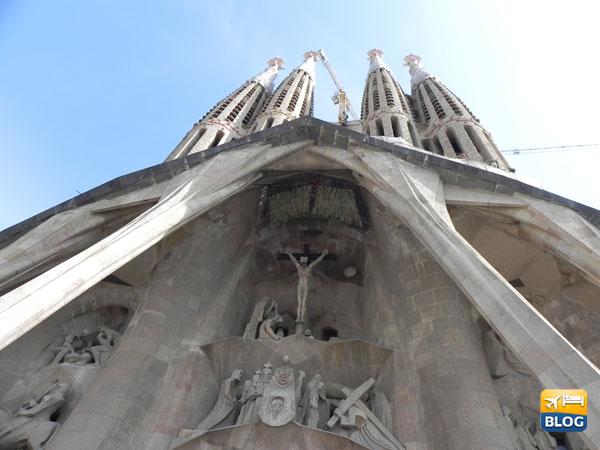 Facciata della Sagrada Familia