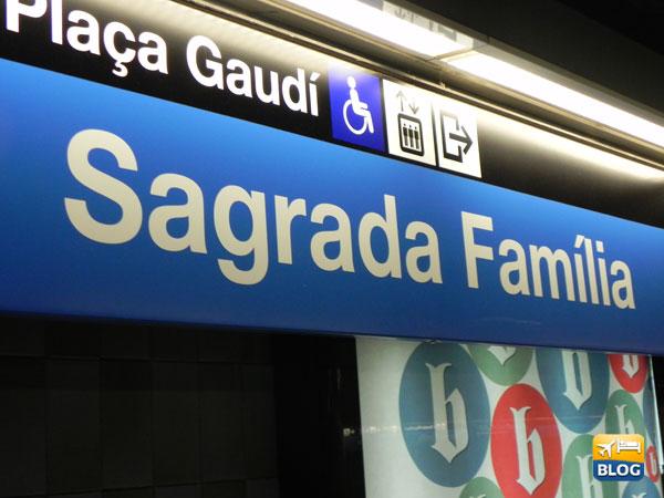 Fermata Metro Sagrada Familia