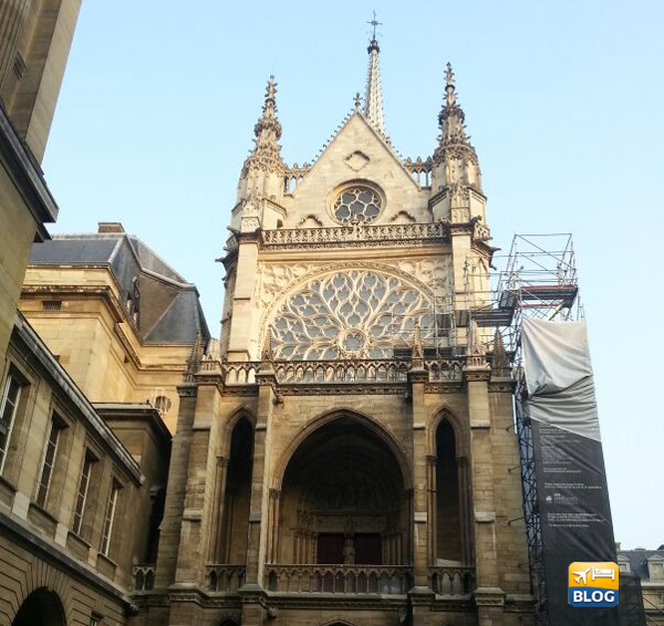 Sainte Chapelle a Parigi facciata