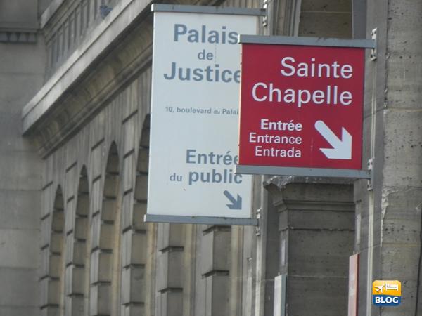 Sainte Chapelle entrata pubblica