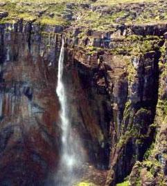 Le cascate Salto Angel