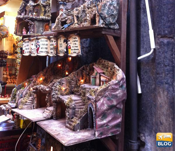 I Presepi a Via San Gregorio Armeno a Napoli