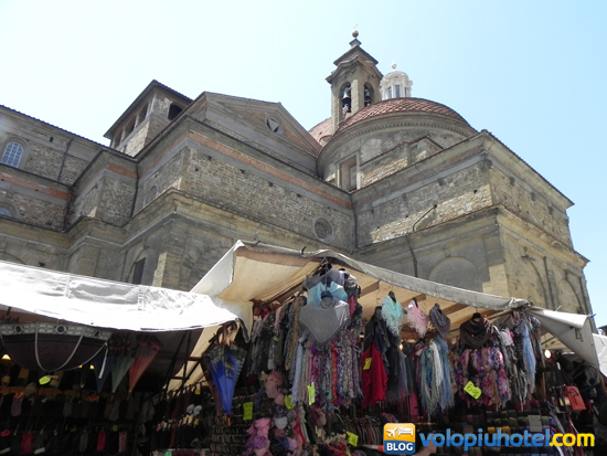 Mercato di San Lorenzo a Firenze