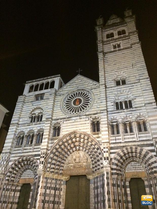 Facciata della Cattedrale di Genova
