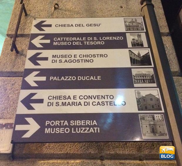 Indicazioni per arrivare alla Cattedrale di Genova