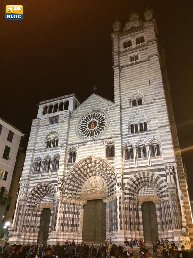 Facciata Duomo di Genova
