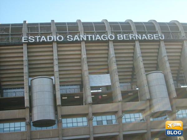 Il Santiago Bernabeu a Madrid