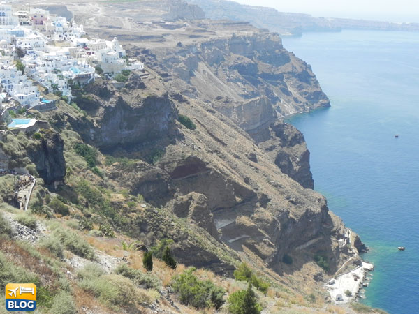 Santorini in Grecia