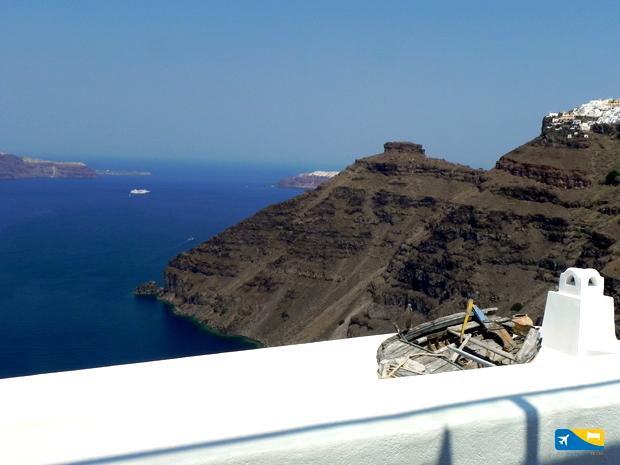 La Caldera a Santorini