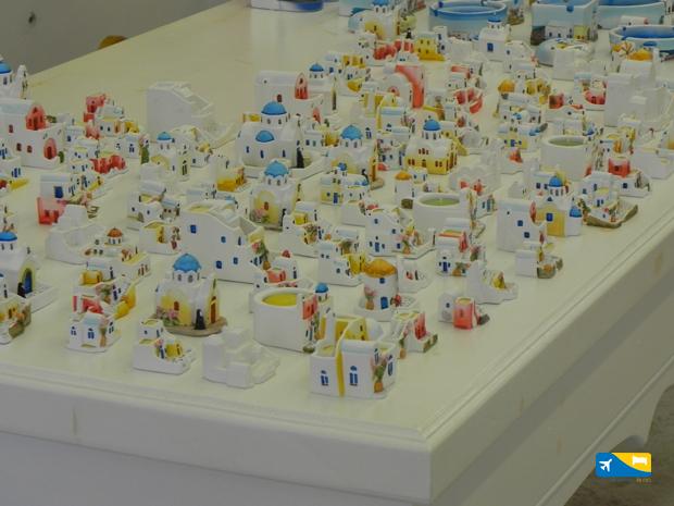 Souvenirs a Santorini