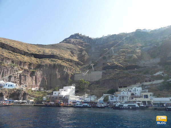 Vecchio porto di Santorini
