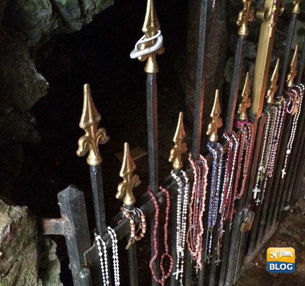 Grotta del Santuario di Roccamonfina