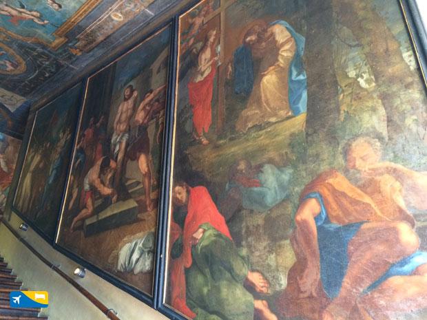 Affreschi Scala Santa Campli