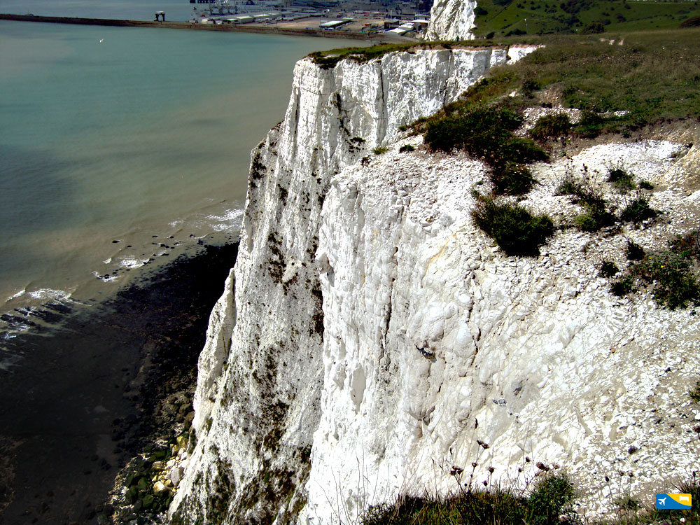 Altra veduta delle bianche scogliere di Dover