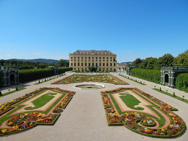 Parco del Castello di Schonbrunn