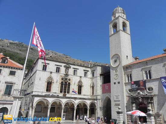 Il municipio di Dubrovnik