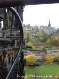 Veduta della città dal monumento