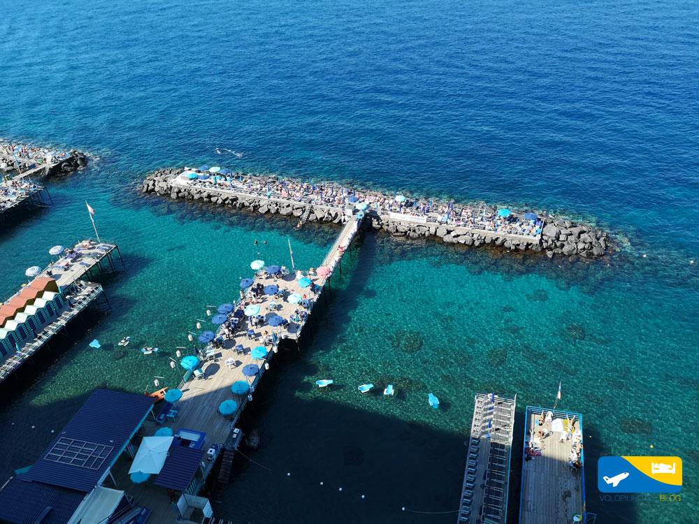il mare di Sorrento