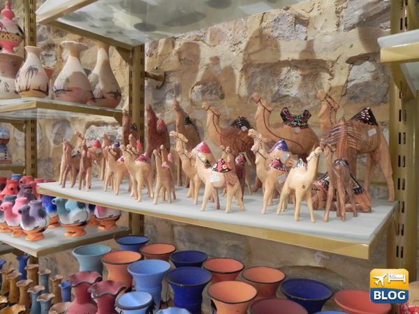 Piccoli oggetti in vendita nei Souk