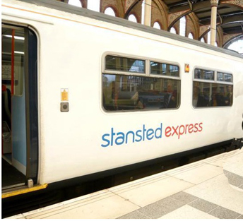 Treno dello Stansted Express