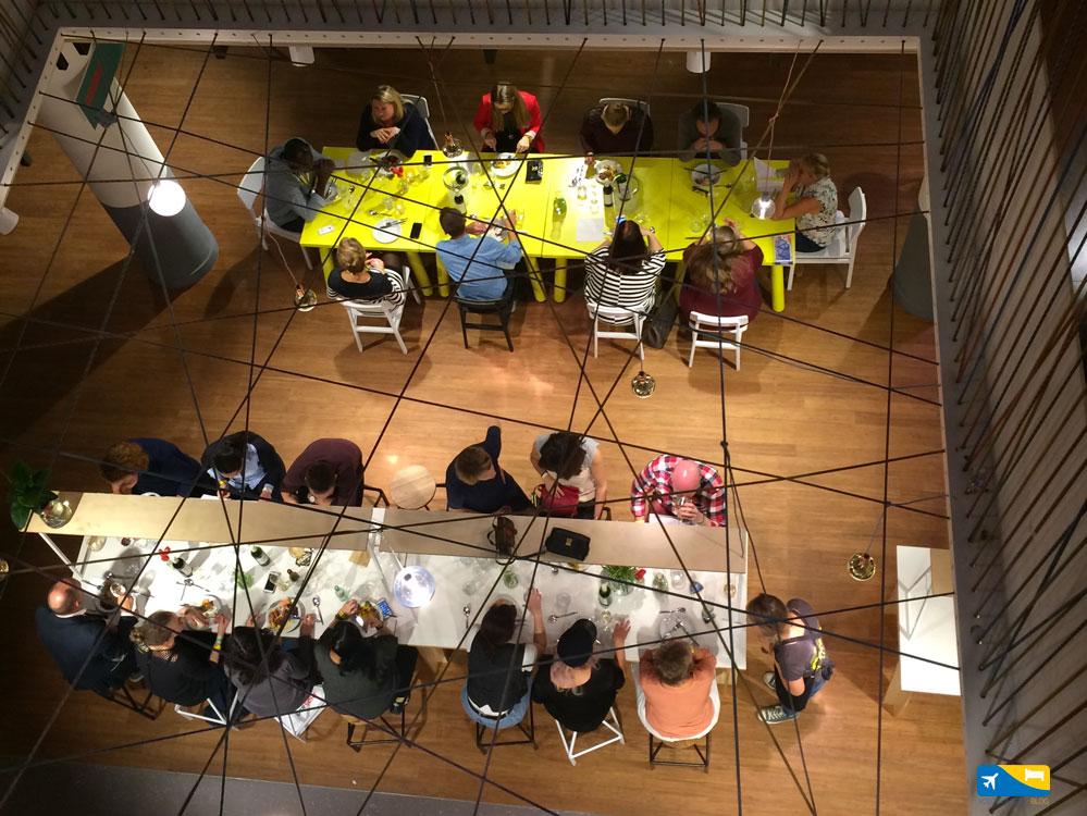 The Fifth lounge di Stayokay Utrecht