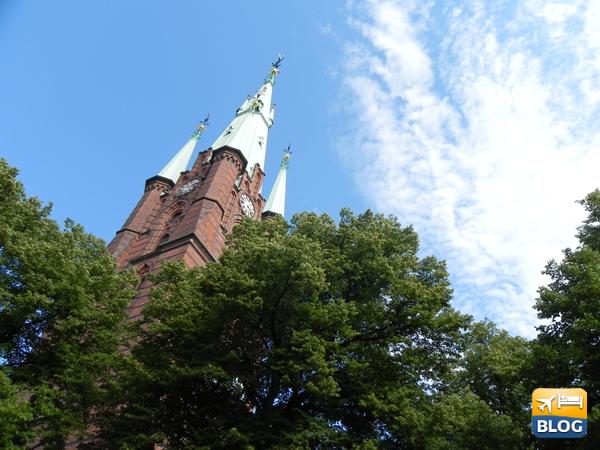 Guglia della chiesa di S:ta Clara a Stoccolma