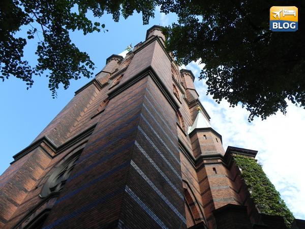 La chiesa di Santa Clara a Stoccolma