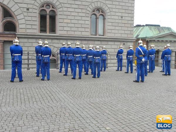 Cambio della Guardia a Stoccolma